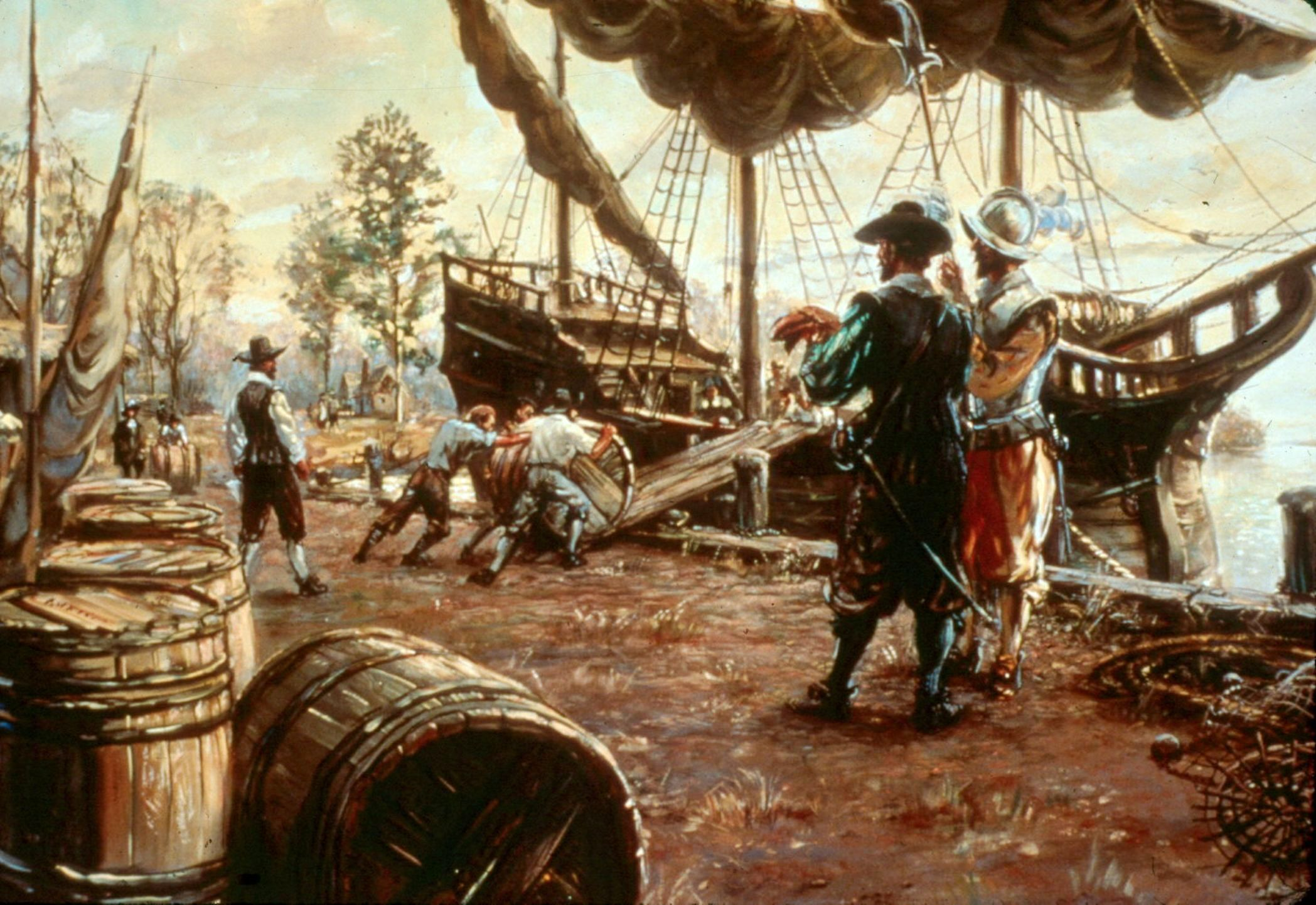 jamestown the first colony in the new world The first new world voyage of christopher columbus la navidad: first european settlement in the americas the rights of individuals to own property also took root jamestown in jamestown in 1618, when the virginia company granted the colonists the right to own land previously held solely.