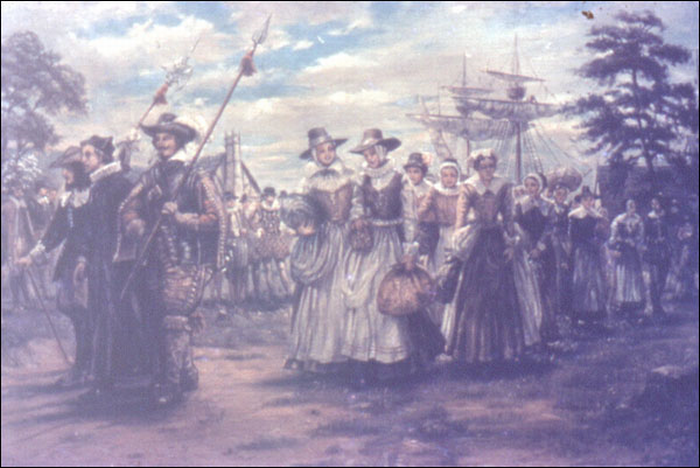 single women in jamestown Why were the 1st colonists in jamestown unprepared for life they were  the  pilgrims were one separatist group that left england in the early 1600s to  the  mayflower left england with more than 100 men, women, and children aboard.