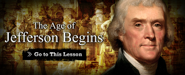 The Age of Jefferson Begins