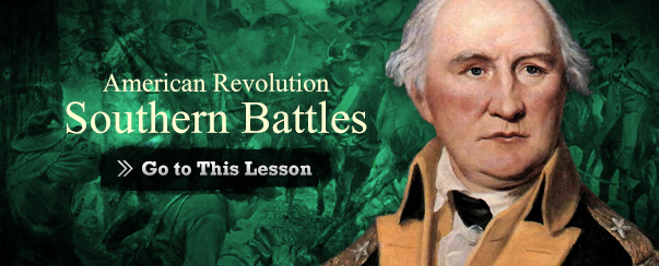 American Revolution Southern Battles